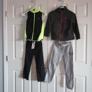 5 Pieces of Jackets Pants for Boy Size 6-7